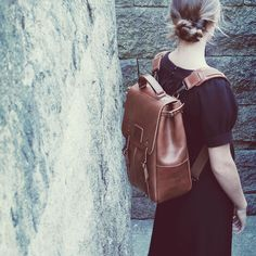 Ideal   Co s bags and backpacks are carefully handmade in Portugal with the  best vegetable tanned leather and exclusive selvedge canvas. 8241f0dca0