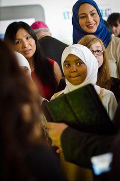 Taken at the Interfaith Explorers launch