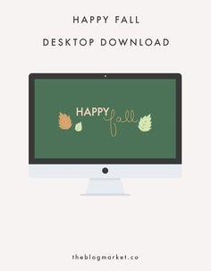 Happy Fall Desktop D