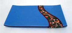 Fused sushi tray by Paul Tarlow
