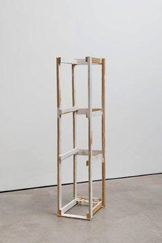 Sculpture Art, Sculptures, B & B, Geometric Art, Art Forms, Wood Art, Ladder Decor, Contemporary Art, Handmade