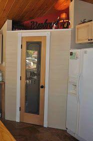 Once Upon a Cedar House: How to Install Pantry Shelves Cedar Homes, L Shaped Pantry, Home Repair, Shelves, Bathroom Medicine Cabinet, Locker Storage, House, Building, Diy