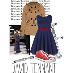 I've only seen a little bit of Doctor Who but, I really like this inspired outfit. ChicGeek: Tenth Doctor