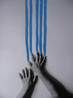 """Helena Almeida deixa-nos uma vez mais um trabalho que passa os limites do possível,do real a obra ganha """"vida"""" ,conjugando de maneira quase genial a pintura,a fotografia e a """"mensagem""""...."""