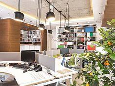 DesignOn Mimarlık, artan iş potansiyelleri ve ekibi için yeni bir ofis tasarladı.