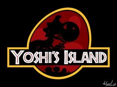 Love this little copy of Jurassic Park, Yoshi's Island!!