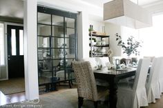 Love the window room divider