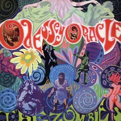 Vintage album cover, The Zombies for 1960's