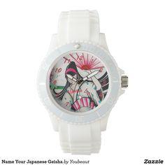 Name Your Japanese Geisha Watches
