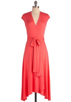 Wrapped Up in Beauty Dress, #ModCloth. has a french flare to it. I like.
