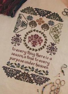 Quaker Seasons by My Big Toe Designs