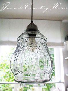 TOWN COUNTRY HOME: Eine neue Lampe ... #CooInteriorPlanningTips