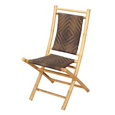 Heather Ann Creations Bamboo Folding Chairs with Diamond Weave, Pack of 2, Natural and Dark/Light Brown Heather Ann Creations http://www.amazon.com/dp/B01AKN18WK/ref=cm_sw_r_pi_dp_brFVwb03CKVQ2