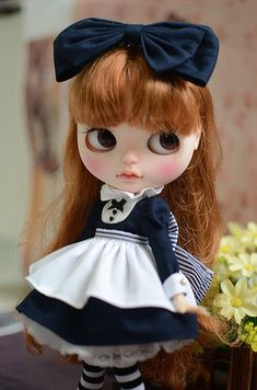 Hecha a mano ropa de Blythe Blythe vestido por MarshmallowHouse