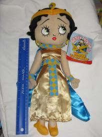 "BETTY BOOP ""EGYPTIAN DRESS"" WORLD TRAVELLER COLLECTION-SUGARLOAF-15+ inches-**FREE SHIP**"