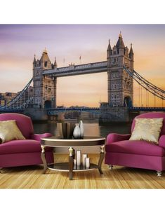 Fototapeta - Świt ponad Tower Bridge Tower Bridge, Travel, Shopping, Design, Fri, Monuments, Google, Products, Letters