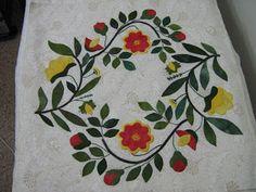 Baltimore Garden Quilts: Annette of Alberta's Baltimore Garden Blocks