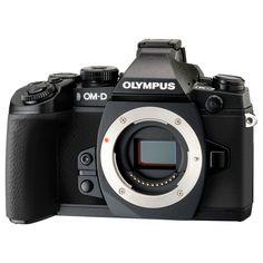 Olympus OM-D E-M1 16.3 Megapixel Mirrorless Camera Body Only -