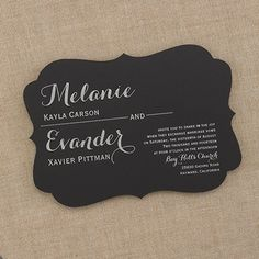 Special Discount – Wedding Invitations and Save the Dates: Prints Charming – Invitation Discount Wedding Invitations, Wedding Invitation Trends, Black And White Wedding Invitations, Beautiful Wedding Invitations, Cute Wedding Ideas, Wedding Stationary, Invitation Design, Invitation Ideas, Wedding Stuff