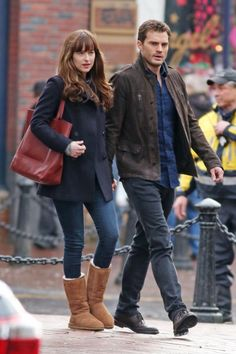 On set of fifty shades darker