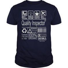 Quality Inspector Job Title - Multitasking