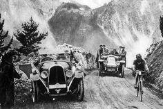 Tour de France 1925. 09-07-1925, 13^Tappa. Nizza - Briançon. Col d'Izoard. Ottavio Bottecchia (1894-1927)