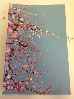 Color It Like you MEAN it!: Cherry Blossom trees