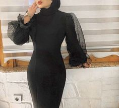 Modest Fashion Hijab, Modern Hijab Fashion, Muslim Fashion, Fashion Dresses, 80s Fashion, Fashion 2020, Korean Fashion, Girl Fashion, Hijab Dress Party