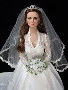 About Princess Catherine: Ultra Basic Daphne repainted by JustCreations as Kate Middleton (Princess Catherine).