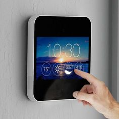 Knowing more about your home just got easier. Camera and environmental sensors in one built-in touchsreen for effortless control. Be home anywhere with live HD streaming video – including audio. Stay in the know with real-time alerts + recorded video clips when activity is detected. Everything you need, right at your fingertips. Check the weather, …