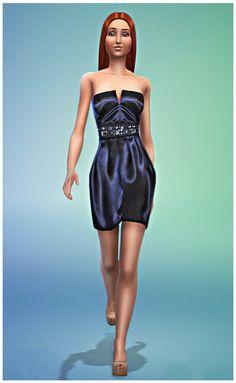 Dress 05 at Sim-o-Matic via Sims 4 Updates