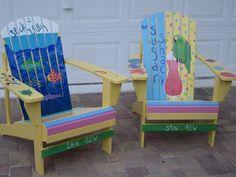 """Adirondak chairs - """"Slick Willy"""" and """"Sugar Shack"""""""