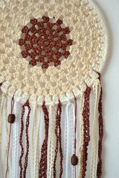 Crochet dreamcatcher