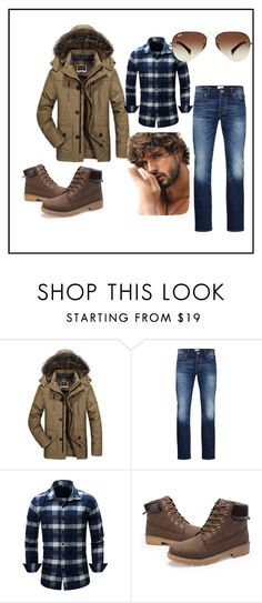 """""""Men fashion........"""" by aziraziza ❤ liked on Polyvore featuring Jack & Jones, Ray-Ban, men's fashion, menswear, romwe, rosegal, yoins, shein and twinkledeals"""