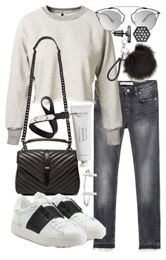 """""""Untitled #19574"""" by florencia95 ❤ liked on Polyvore featuring Zara, Unravel, Christian Dior, Yves Saint Laurent, Byredo, Givenchy, Valentino, French Connection, Simply Vera and women's clothing"""