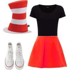 A fashion look from October 2015 featuring jersey shirt, circle skirts and high-top sneakers. Browse and shop related looks. 90s Costume, Costumes, Jersey Shirt, Skater Skirt, High Tops, High Top Sneakers, Fashion Looks, Hats, Polyvore