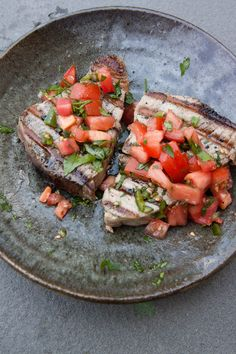 ... Grilled Tuna Steaks on Pinterest   Grilled Tuna, Tuna Steaks Recipe