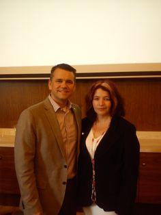 Gery Shreve - zástupca FLP pre časť Európy v Bratislave