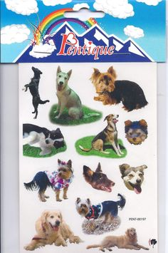 Dog Stickers - Pentique Stationers