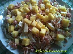 Insalata di ananas e radicchio  http://blog.cookaround.com/elisaincucina/insalata-di-ananas-e-radicchio/