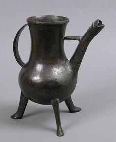 Vessel Date: 14th century Culture: German (?) Medium: Copper alloy, cast Dimensions: Overall: 9 3/16 x 7 9/16 x 5 1/2 in. (23.3 x 19.2 x 14 cm)