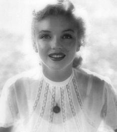 What a lovely photo of Marilyn Monroe!