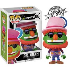 Pop Muppets Dr. Teeth now featured on Fab.