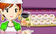 Sushi california role Sara's Cooking Class, Pasta Carbonara, Fettuccine Alfredo, Pavlova, Ratatouille, Sushi, Character, Chocolate Pizza, Biscuit Chicken Pot Pie
