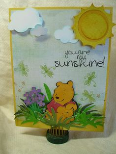 shellys card blog: pooh and friends