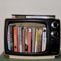 """In my day, television was called BOOKS."""