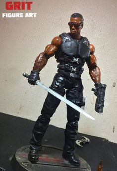Blade (Marvel Legends) Custom Action Figure