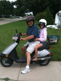 Motor Scooter Fun on the 4th of July (Picture)