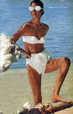 Vintage swim: Vogue, May 1965, by Norman Parkinson