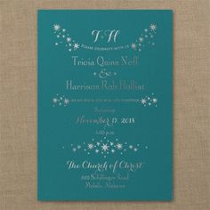 Enchanted Evening - Classic Invitation - Marina